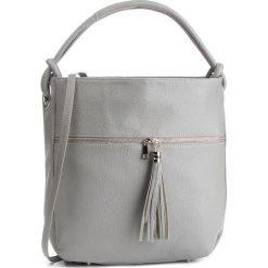 Torebka CREOLE - K10567 Szary. Szare torebki klasyczne damskie Creole, ze skóry. W wyprzedaży za 199,00 zł.