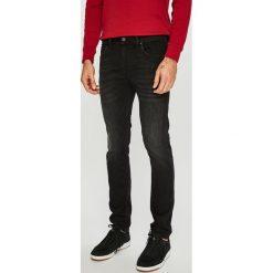 Diesel - Jeansy Thommer. Czarne jeansy męskie slim Diesel. W wyprzedaży za 559,90 zł.