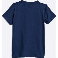 Name it - T-shirt dziecięcy 104-128 cm. Szare t-shirty męskie z nadrukiem marki Name it, z bawełny. W wyprzedaży za 29,90 zł.
