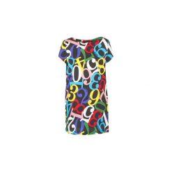 Sukienki krótkie Love Moschino  ALEJO. Szare sukienki mini marki Love Moschino, z krótkim rękawem. Za 762,30 zł.