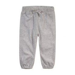 Spodnie dresowe dziewczęce: Welurowe spodnie dresowe dla niemowlaka
