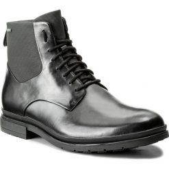 Kozaki CLARKS - Londonpace Gtx GORE-TEX 261269287 Black Leather. Czarne botki męskie Clarks, z gore-texu. Za 669,00 zł.