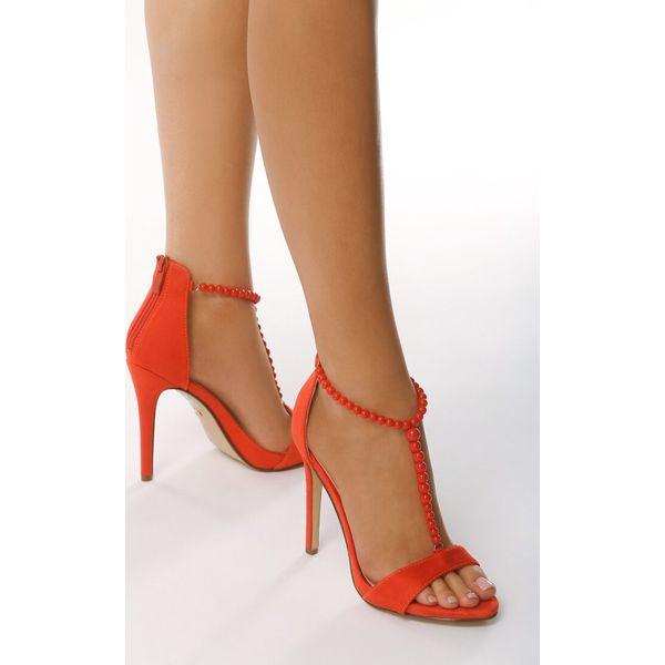 a2ea43871c677b Czerwone Sandały Oligarch - Czerwone sandały damskie Born2be, bez ...