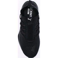 Puma - Buty Tsugi Jun. Czarne halówki męskie Puma, z materiału, na sznurówki. W wyprzedaży za 359,90 zł.