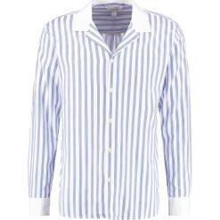 Koszule męskie na spinki: Soulland BAI Koszula stripe blue