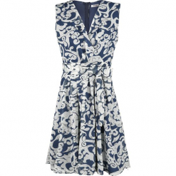 Innocent Elin Dress Sukienka niebieski. Niebieskie sukienki na komunię marki Innocent, xl, w ażurowe wzory, z materiału, z dekoltem na plecach. Za 79,90 zł.