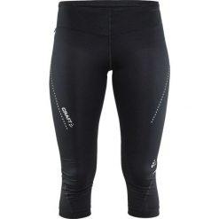 Craft Spodnie damskie 3/4 Essential Capri Czarne r. XS  (1904773-9999). Czarne spodnie sportowe damskie marki Craft, m. Za 182,43 zł.