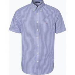 Gant - Koszula męska, niebieski. Niebieskie koszule męskie na spinki GANT, m, z klasycznym kołnierzykiem. Za 359,95 zł.