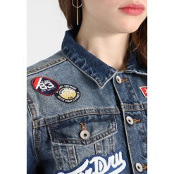 Bomberki damskie: Superdry GIRLFRIEND Kurtka jeansowa tide blue