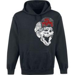 Sons Of Anarchy Los Mayans Bluza z kapturem czarny. Czarne bluzy męskie rozpinane Sons Of Anarchy, xl, z nadrukiem, z kapturem. Za 164,90 zł.