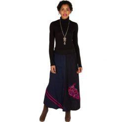 Odzież damska: Spódnica w kolorze czarno-fioletowym