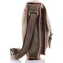 Jasnobrązowa Torba męska Paolo Peruzzi Adventure na ramię. Szare torby na ramię męskie Paolo Peruzzi, w paski, z nylonu, na ramię. Za 249,00 zł.