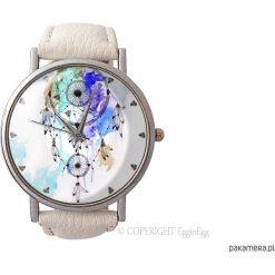 Zegarek z dużą tarczką Dreamcatcher II - 0872. Szare zegarki damskie Pakamera. Za 120,00 zł.