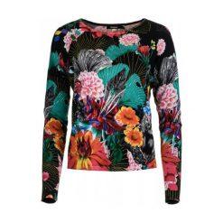 Swetry klasyczne damskie: Desigual Sweter Damski Hawai Xs Czarny