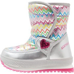 Agatha Ruiz de la Prada APRESKI Śniegowce silver. Szare buty zimowe damskie marki Agatha Ruiz de la Prada. W wyprzedaży za 142,35 zł.