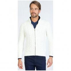 Sir Raymond Tailor Sweter Męski, L, Biały. Białe swetry rozpinane męskie Sir Raymond Tailor, l. Za 229,00 zł.