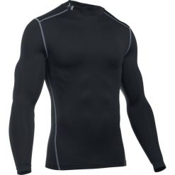Under Armour Koszulka męska ARMOUR MOCK-BLK/STL  czarna r. L (1265648-001). Czarne koszulki sportowe męskie marki Under Armour, l. Za 200,86 zł.