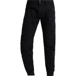 Spodnie męskie: GStar POWEL 3D TAPERED CUFFED Bojówki dark black