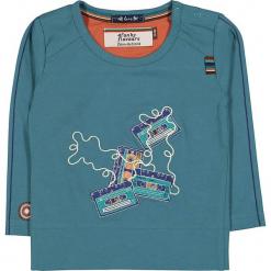 """Koszulka """"Tape Deck"""" w kolorze niebieskim. Niebieskie t-shirty chłopięce z długim rękawem marki 4FunkyFlavours Kids, z haftami. W wyprzedaży za 72,95 zł."""
