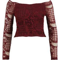 Bluzki asymetryczne: Ivyrevel MADY Bluzka z długim rękawem burgundy