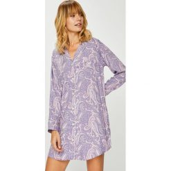 Lauren Ralph Lauren - Koszulka nocna. Szare koszule nocne i halki marki Lauren Ralph Lauren, l, z poliesteru. W wyprzedaży za 319,90 zł.