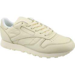 Buty sportowe damskie: Reebok Buty damskie Classic Leather beżowe r. 39