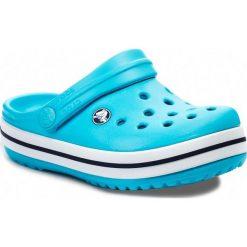 Klapki CROCS - Crocband Kids 10998 Surf/Navy. Niebieskie klapki chłopięce Crocs, z tworzywa sztucznego. Za 139,00 zł.