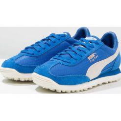 Puma EASY RIDER Tenisówki i Trampki lapis blue/whisper white/gold. Niebieskie trampki męskie Puma, z materiału. W wyprzedaży za 287,20 zł.