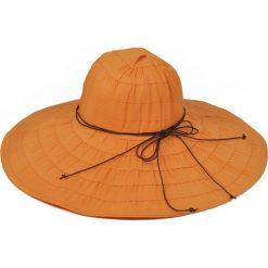 Kapelusz damski Słońce pustyni pomarańczowy (kp2134-2). Brązowe kapelusze damskie marki Art of Polo. Za 36,52 zł.