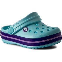 Klapki CROCS - Crocband Clog K 204537 Ice Blue. Niebieskie klapki chłopięce marki Crocs, z tworzywa sztucznego. W wyprzedaży za 129,00 zł.