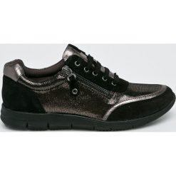Caprice - Buty. Czarne buty sportowe damskie Caprice, z materiału. W wyprzedaży za 219,90 zł.
