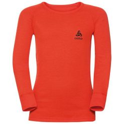 Odlo Koszulka tech. Odlo Shirt l/s crew neck WARM KIDS - 190859 - 190859140. Czarne t-shirty chłopięce marki Odlo. Za 119,95 zł.