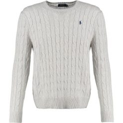 Kardigany męskie: Polo Ralph Lauren CABLE Sweter light grey heather