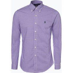 Polo Ralph Lauren - Koszula męska – Slim Fit, lila. Niebieskie koszule męskie na spinki Polo Ralph Lauren, l, z klasycznym kołnierzykiem. Za 499,95 zł.