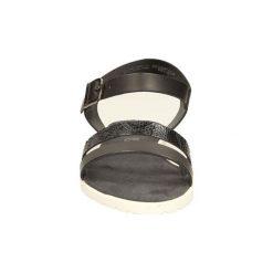 Sandały S.Oliver  SANDAŁY  5-28112-24. Szare sandały damskie marki S.Oliver, z gumy. Za 109,99 zł.