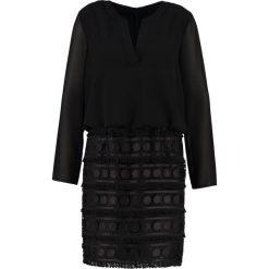 Sukienki hiszpanki: Young Couture by Barbara Schwarzer Sukienka letnia schwarz
