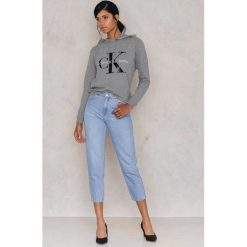 Bluzy damskie: Calvin Klein Bluza z kapturem Honor True Icon - Grey