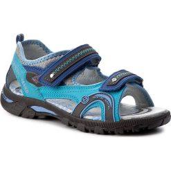 Sandały BARTEK - 19113-103 Niebieski. Niebieskie sandały męskie skórzane Bartek. W wyprzedaży za 169,00 zł.