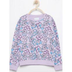 Bluzy dziewczęce: Bluza z nadrukiem - Fioletowy