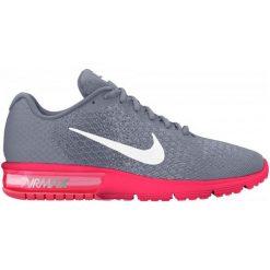 Buty sportowe damskie: Nike Damskie Obuwie Biegowe Air Max Sequent 2 Running Shoe 38.5