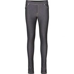 """Legginsy we wzory: Legginsy o wyglądzie dżinsów bonprix czarny """"stone"""""""
