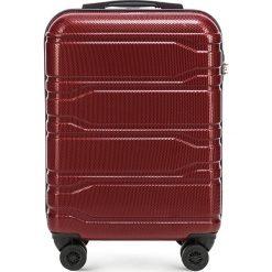 Walizka mała 56-3P-981-30. Czerwone walizki marki Wittchen, z gumy, małe. Za 259,00 zł.