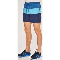 Adidas Performance - Szorty. Szare spodenki sportowe męskie adidas Performance, z materiału, sportowe. Za 169,90 zł.