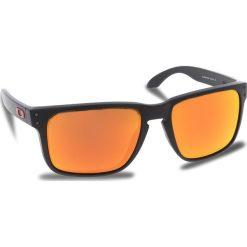 Okulary przeciwsłoneczne OAKLEY - Holbrook Xl OO9417-0459 Matte Black/Prizm Ruby. Czarne okulary przeciwsłoneczne męskie aviatory Oakley, z tworzywa sztucznego. W wyprzedaży za 479,00 zł.