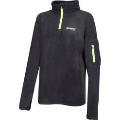 Bluzy rozpinane damskie: BERG OUTDOOR Bluza damska Carbon Fibre Sweat czarna r. L