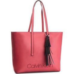1905cf3259 Torebka CALVIN KLEIN - Pop Touch Shopper K60K604286 627 - Czerwone ...