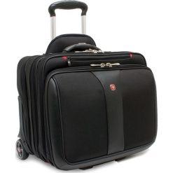 "Torba Wenger walizka + torba do laptopa PATRIOT czarna 17"" (600662). Czarne torby na laptopa marki Wenger. Za 605,99 zł."