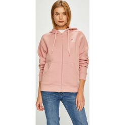 Reebok Classic - Bluza. Różowe bluzy rozpinane damskie Reebok Classic, m, z bawełny, z kapturem. W wyprzedaży za 239,90 zł.