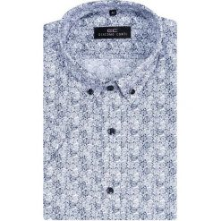 Koszula SIMONE KKGS000009. Niebieskie koszule męskie slim marki Giacomo Conti, m, z tkaniny, klasyczne. Za 149,00 zł.