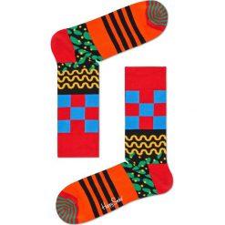 Happy Socks - Skarpety Mix Max. Czerwone skarpetki męskie Happy Socks, z bawełny. W wyprzedaży za 29,90 zł.